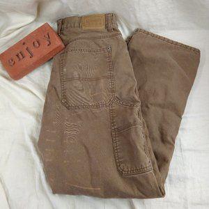 Schmidt Workwear Carpenter Jeans Flannel Lined 34W